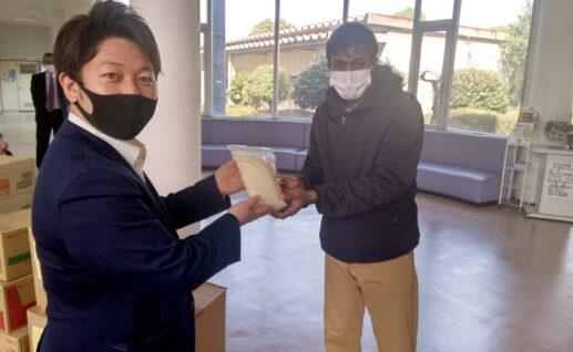 えがおの社会貢献活動 ~海外留学生支援~